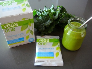 Vega One French Vanilla smoothie