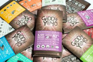 Giddy Yoyo Raw Chocolate